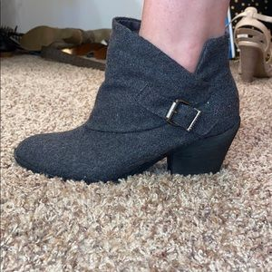 Blowfish low ankle boots worn once